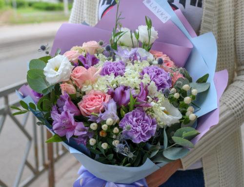 Заказать цветы в Уфе с доставкой