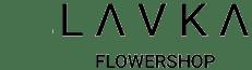 L A V K A flowershop Логотип