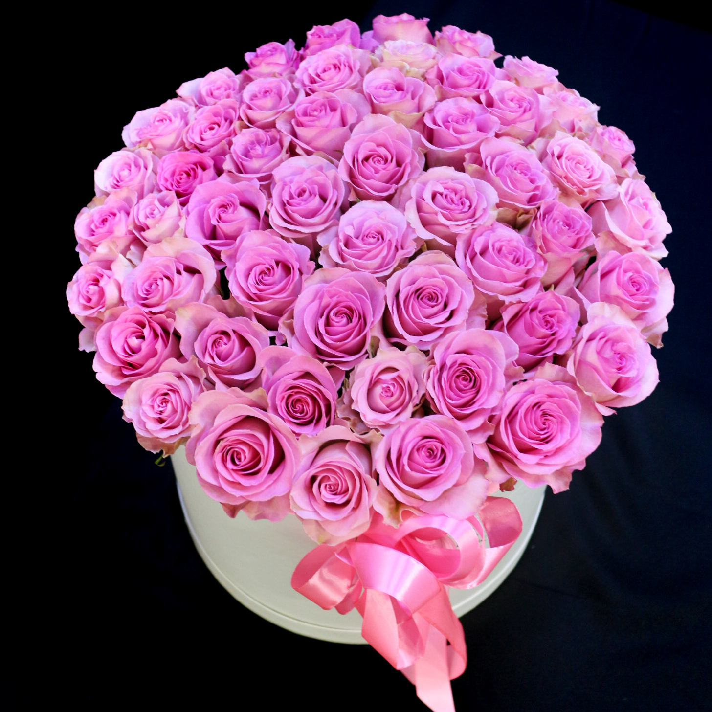 Розы в коробке Уфа